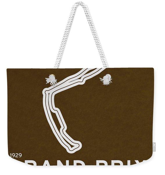 Legendary Races - 1929 Grand Prix De Monaco Weekender Tote Bag