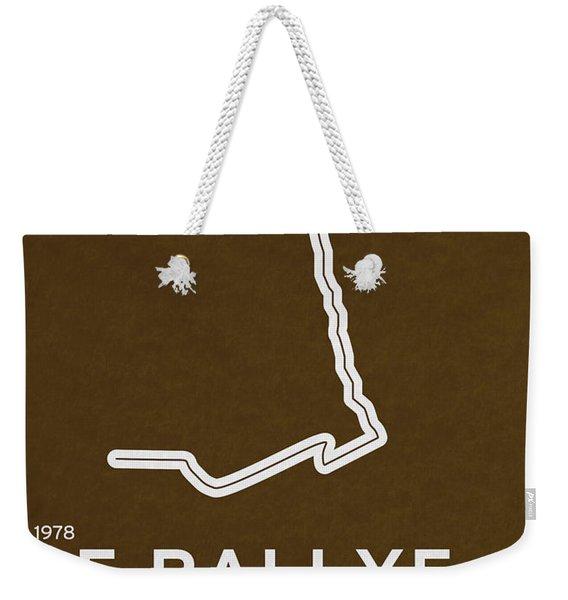 Legendary Races - 1978 Le Rallye Dakar Weekender Tote Bag