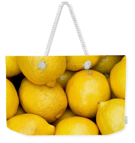 Lemons 02 Weekender Tote Bag
