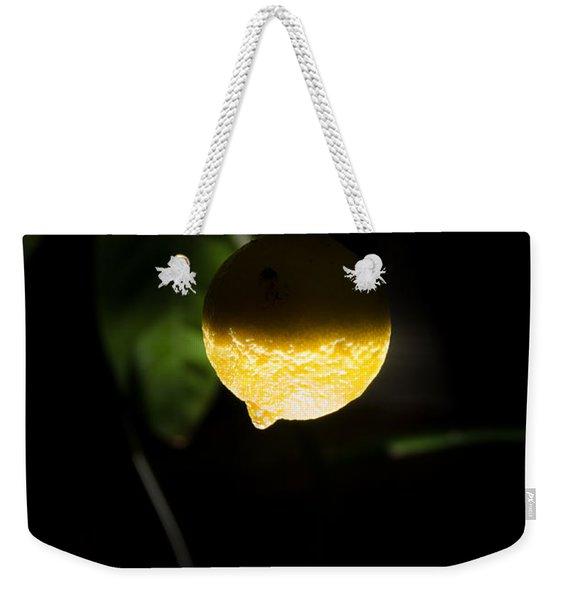Lemon's Planet Weekender Tote Bag