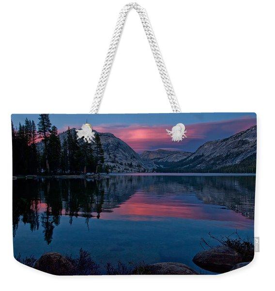 Lenticular Sunset At Tenaya Weekender Tote Bag