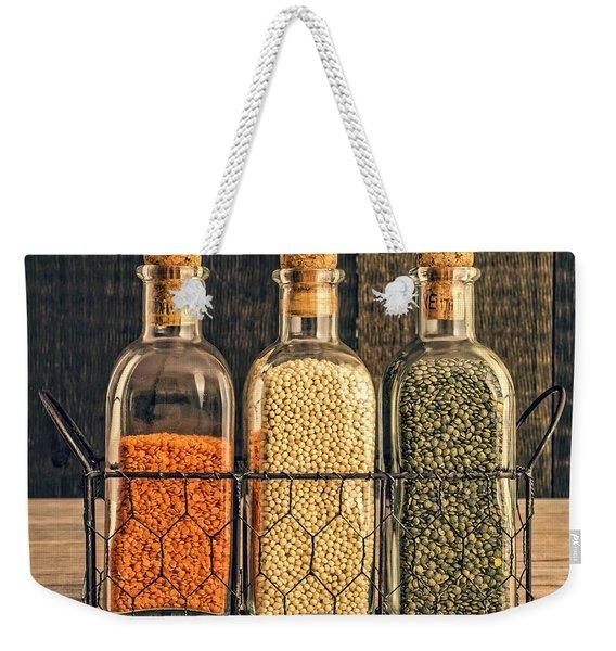 Lentils - Kitchen Art Weekender Tote Bag