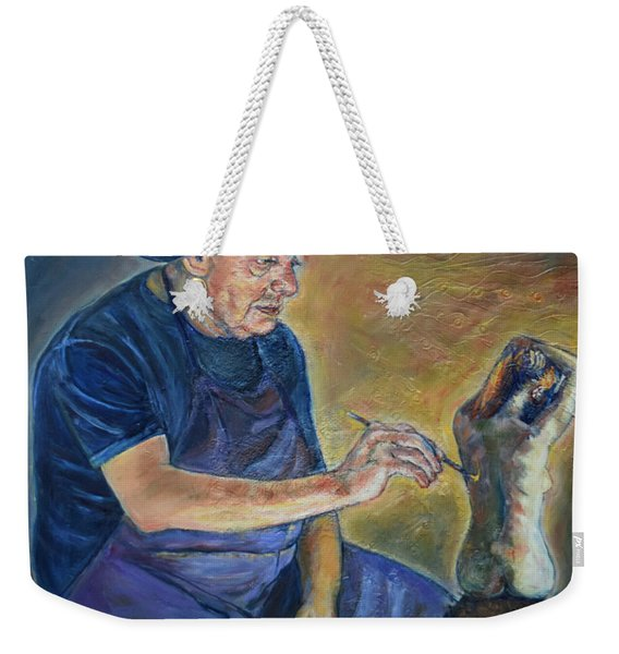Figurative Painting Weekender Tote Bag