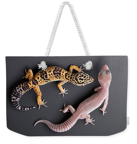 Leopard Gecko E. Macularius Collection Weekender Tote Bag