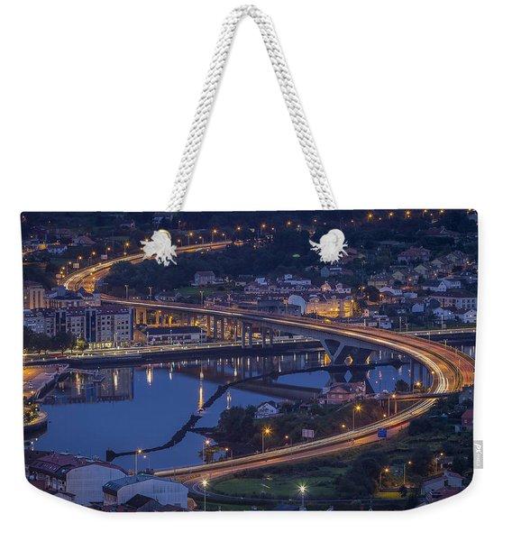 Lerez River Pontevedra Galicia Spain Weekender Tote Bag