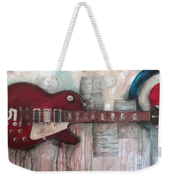 Les Paul Number 5 Weekender Tote Bag