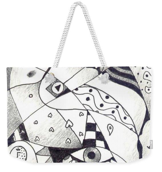 Let Us Dance Weekender Tote Bag