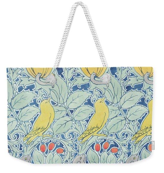 Let Us Prey Wallpaper Weekender Tote Bag