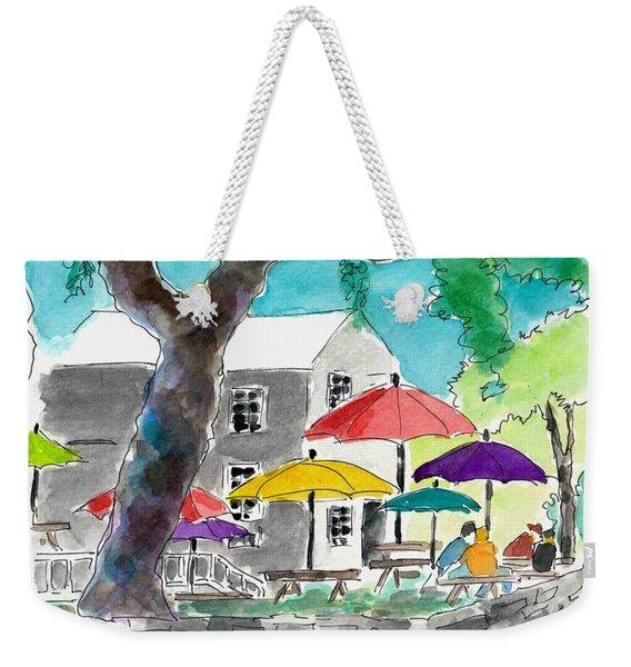 Let's Eat Outside Weekender Tote Bag