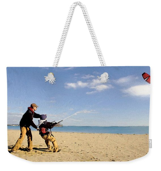Let's Go Fly A Kite Weekender Tote Bag