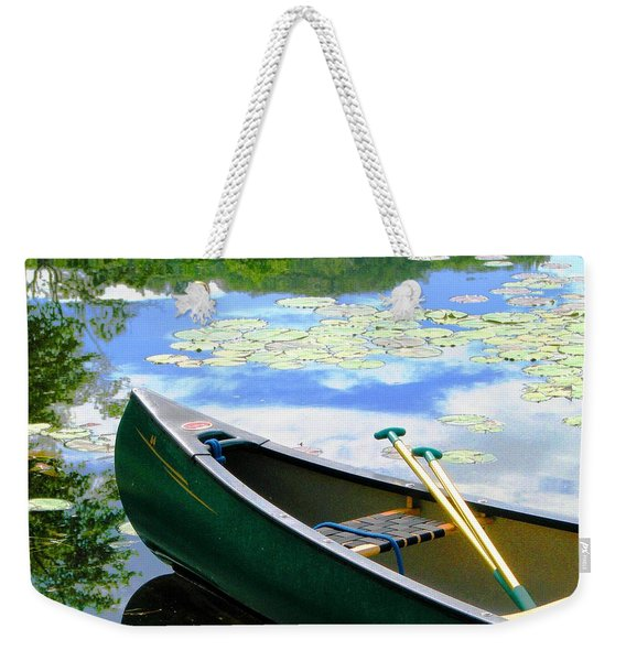 Let's Go Out In The Old Town Weekender Tote Bag