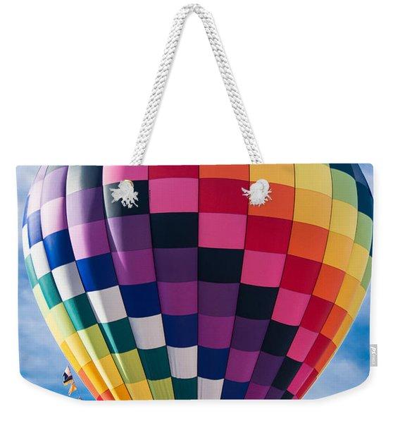 Let's Take A Ride Weekender Tote Bag