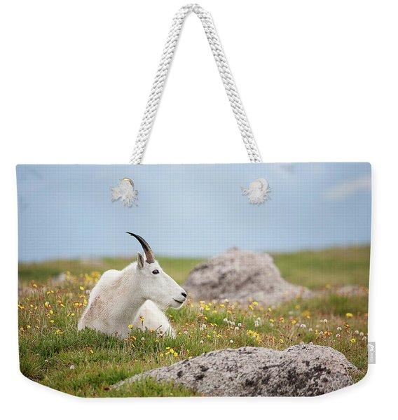 Lie Down In Green Pastures Weekender Tote Bag