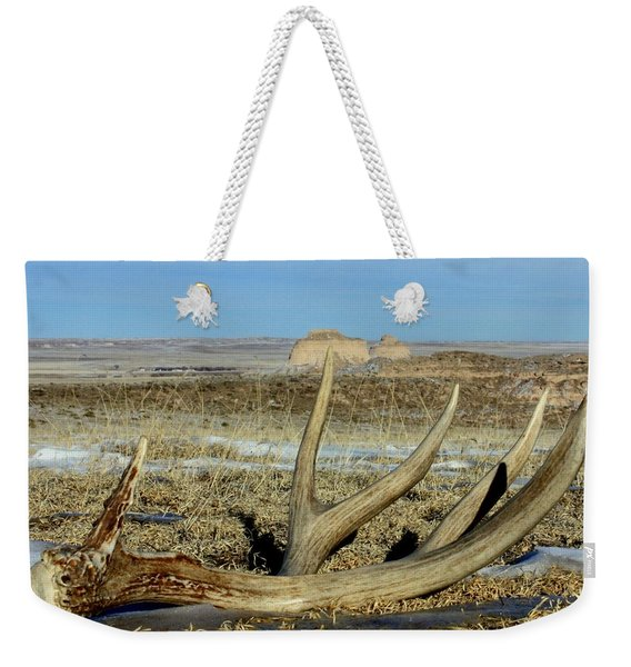 Life Above The Buttes Weekender Tote Bag