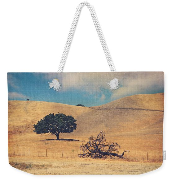 Life And Death Weekender Tote Bag