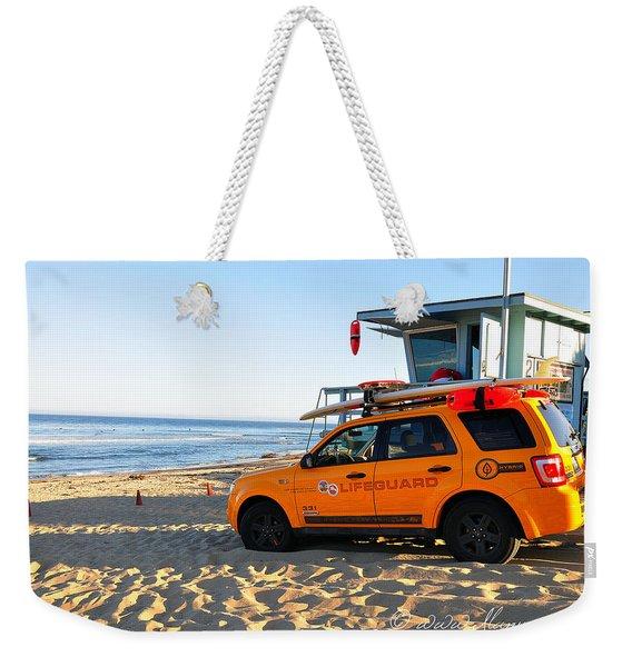 Life Guard  Weekender Tote Bag