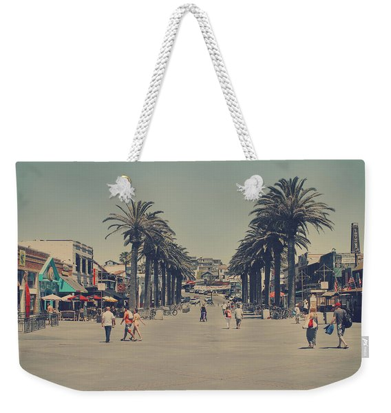 Life In A Beach Town Weekender Tote Bag