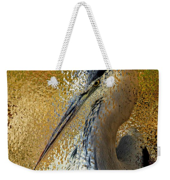 Life In The Sunshine - Bird Art Abstract Realism Weekender Tote Bag