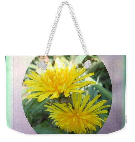 Life Is Made Up Of Dandelions Weekender Tote Bag