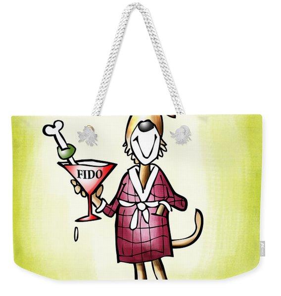 Life Is Short Weekender Tote Bag