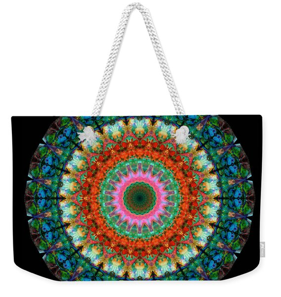 Life Joy - Mandala Art By Sharon Cummings Weekender Tote Bag
