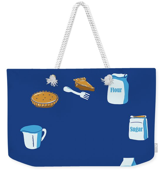 Life Of Pie Weekender Tote Bag