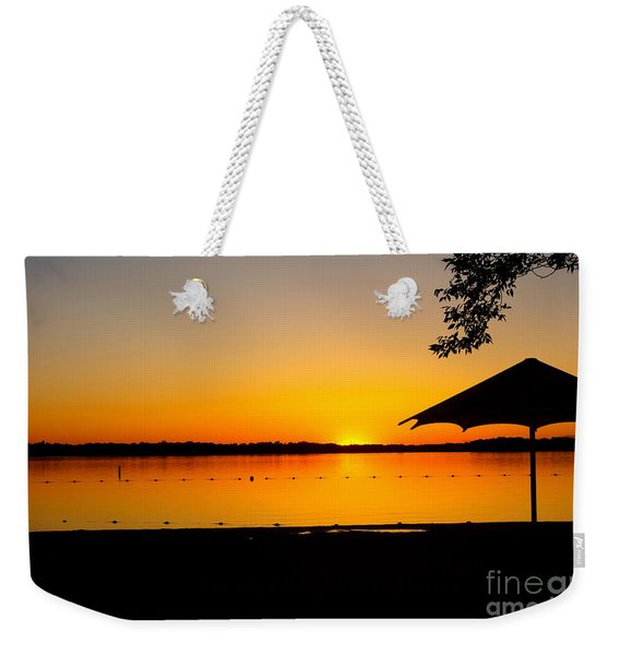 Lifeguard Off Duty Weekender Tote Bag