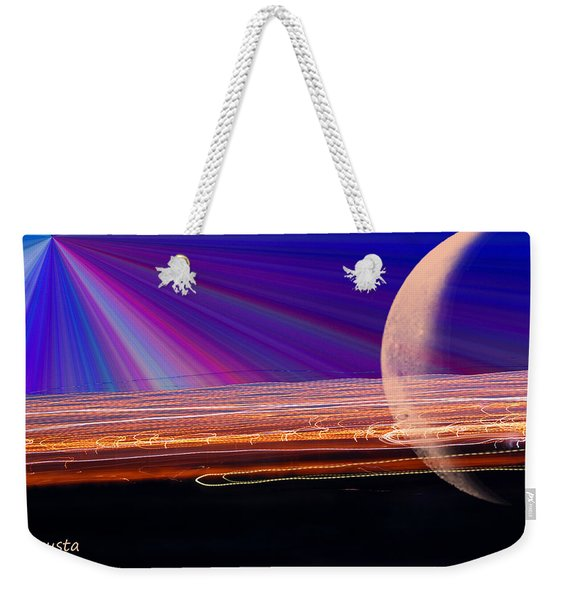 Light And Planet Weekender Tote Bag
