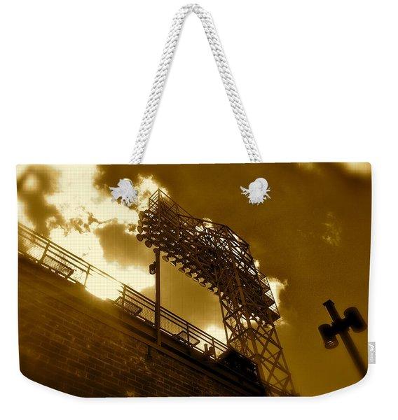 Light  Fenway Park Weekender Tote Bag