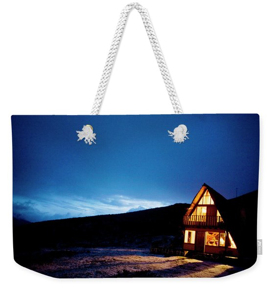 Light From A Tourist Lodge Weekender Tote Bag