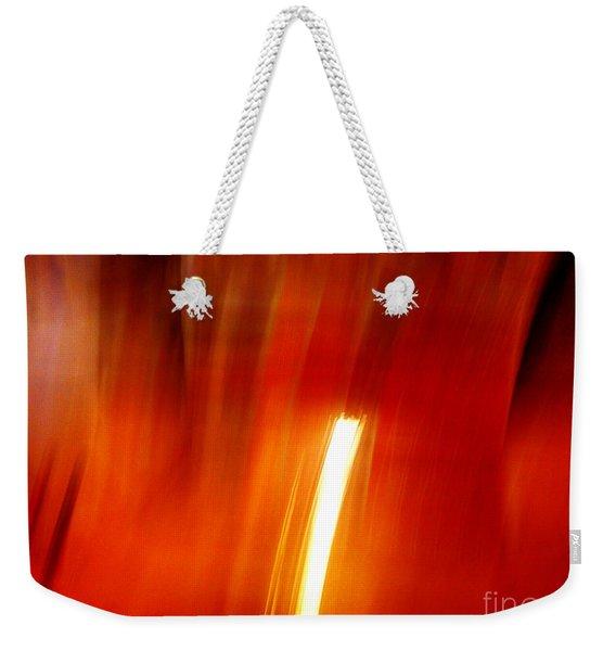 Light Intrusion Weekender Tote Bag