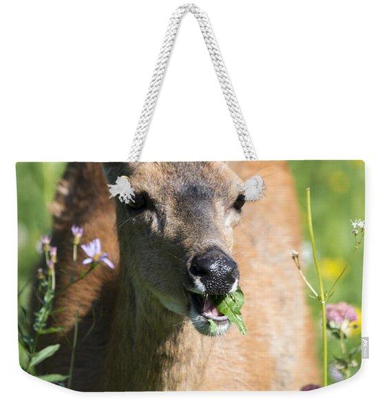 Light Lunch Weekender Tote Bag
