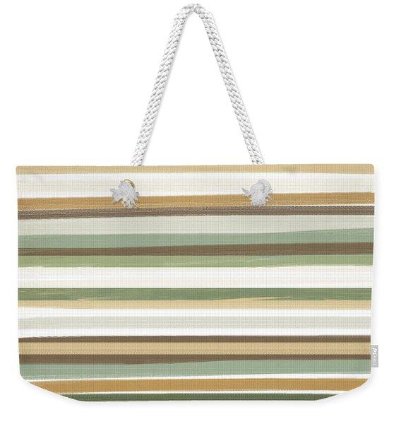 Light Mocha Weekender Tote Bag