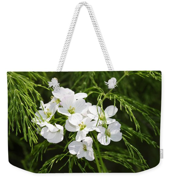 Light Of The White Weekender Tote Bag