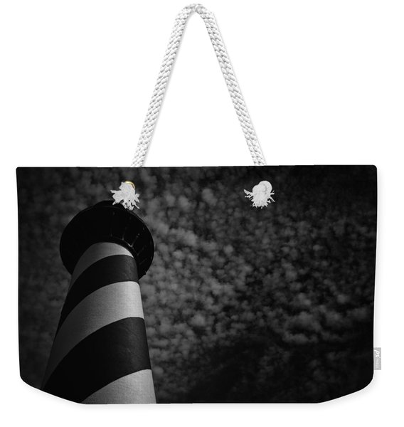Light On The Light Weekender Tote Bag