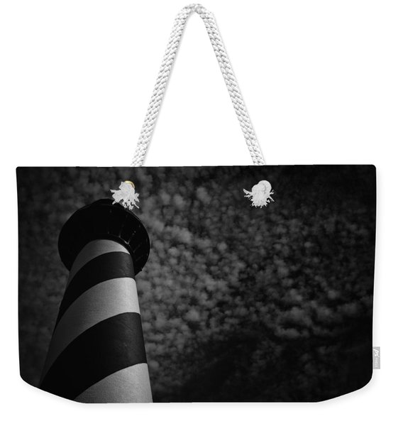 Light On The Light Weekender Tote Bag