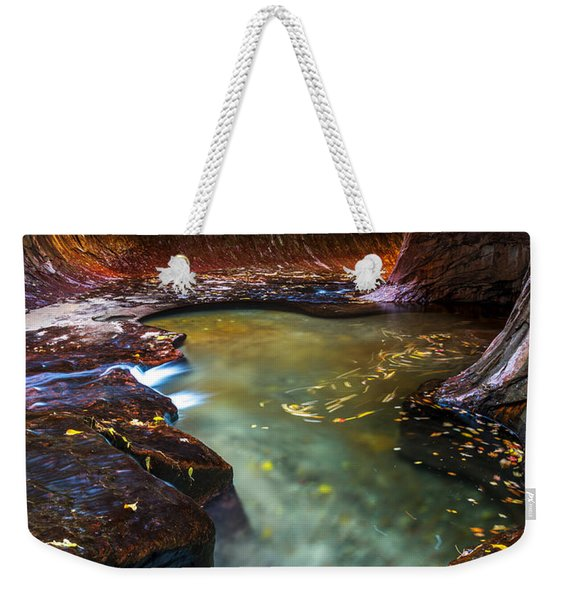 Light Passage Weekender Tote Bag
