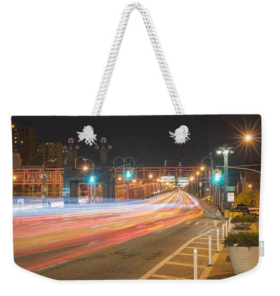 Light Traffic Weekender Tote Bag