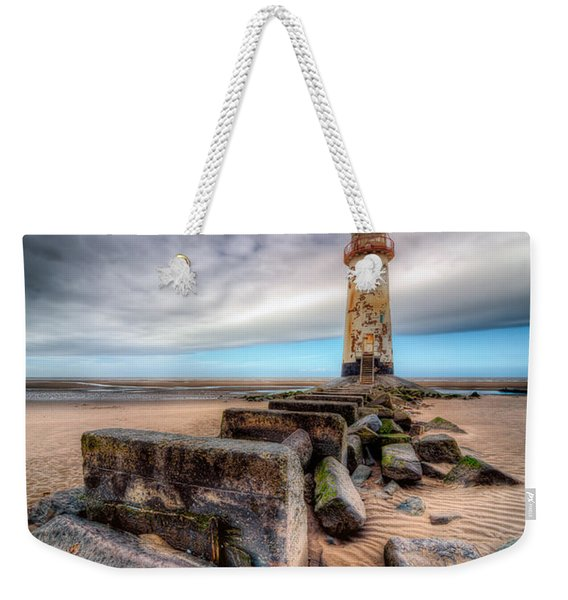 Lighthouse At Talacre  Weekender Tote Bag
