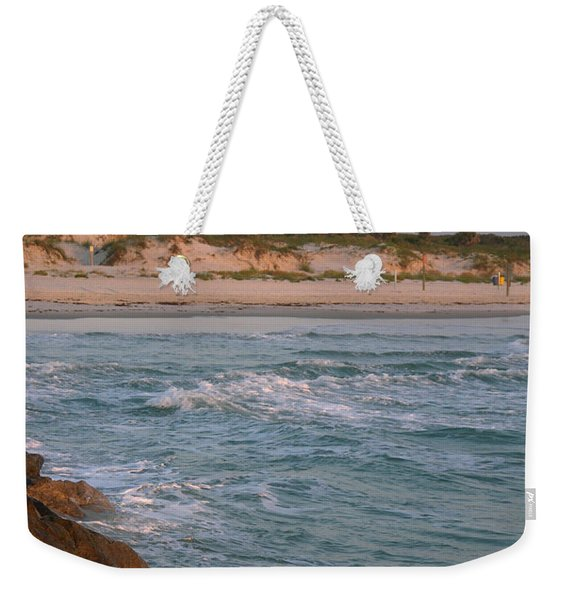 Lighthouse From The Jetty 2 Weekender Tote Bag