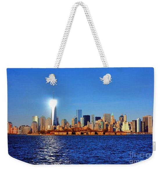 Lighthouse Manhattan Weekender Tote Bag