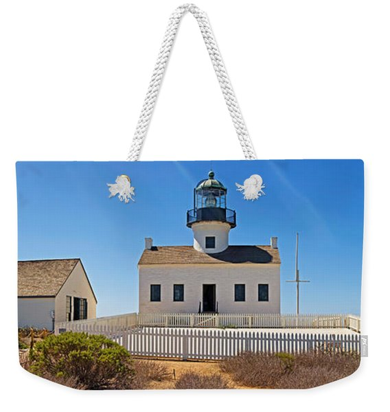 Lighthouse, Old Point Loma Lighthouse Weekender Tote Bag