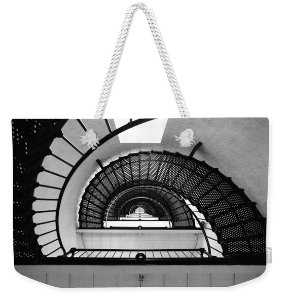 Lighthouse Spiral Weekender Tote Bag