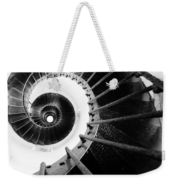 Lighthouse Staircase Weekender Tote Bag
