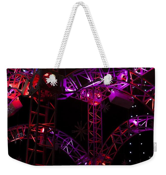 Lighting At Conagra Skating Rink Weekender Tote Bag