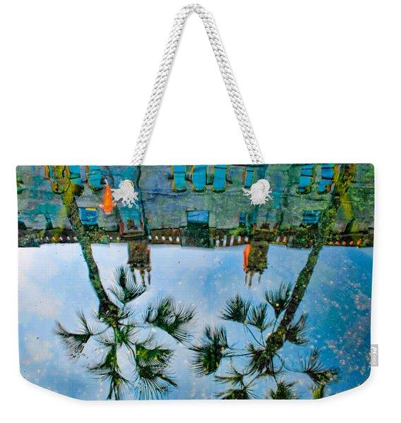 Lightner Museum Koi Pond Reflection Weekender Tote Bag