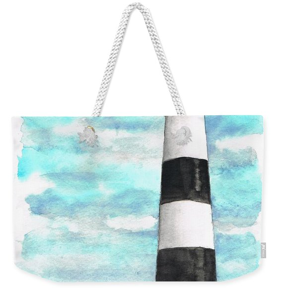 Ligthhouse Bodie Island, North Carolina Weekender Tote Bag
