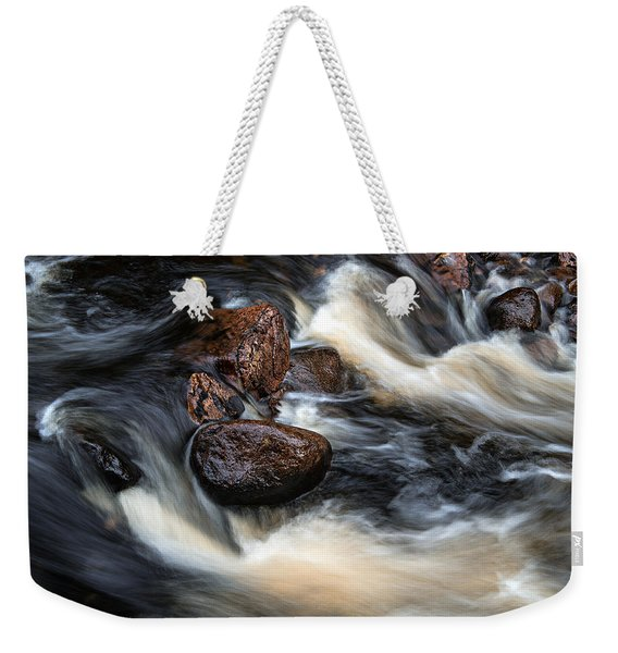 Weekender Tote Bag featuring the photograph Like A Rock by Doug Gibbons