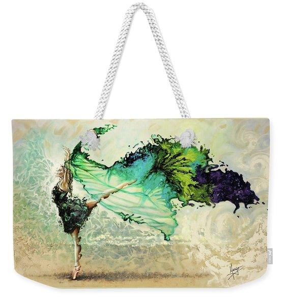 Like Air I Will Raise Weekender Tote Bag
