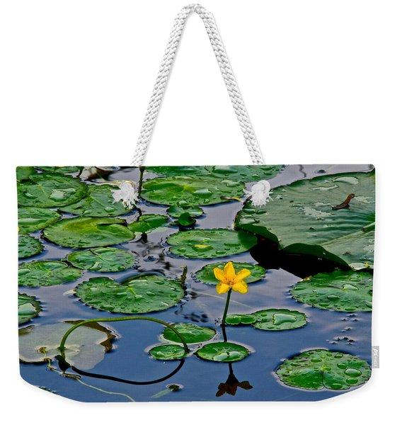 Lilly Pad Pond Weekender Tote Bag